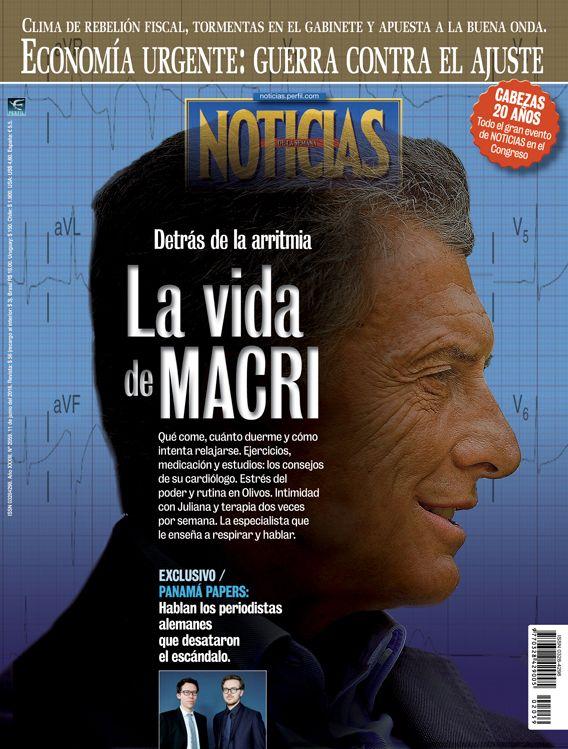 Detrás de la arritmia: La vida de Macri