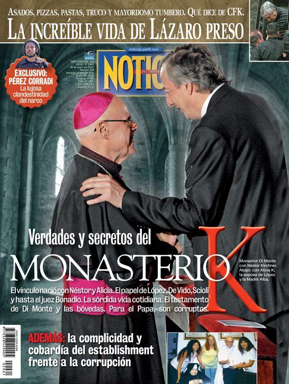 Tapa 2061 - Verdades y secretos del monasterio K - Revista Noticias
