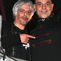 Zeta Bosio y Bobby Flores