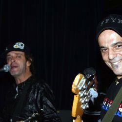 Zeta Bosio y Gustavo Cerati