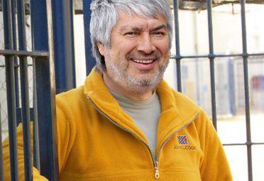 FOTOMONTAJE. El empresario kirchnerista está preso en Ezeiza desde el 5 de abril.