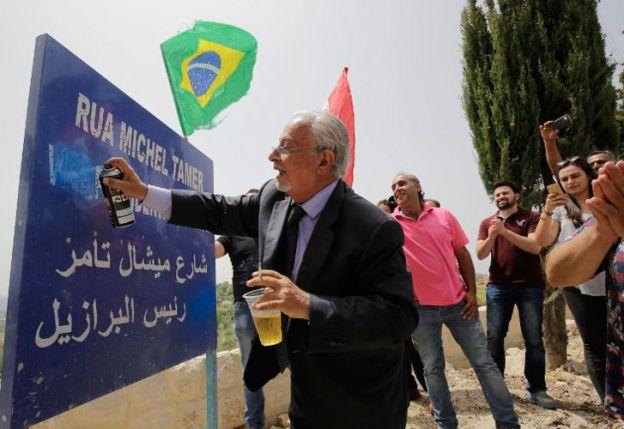 Temer. El presidente interino de Brasil en su intento por afianzarse en el poder.