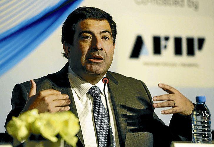 El extitular de la AFIP,Ricardo Echegaray.