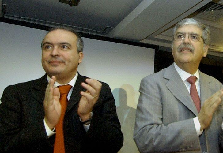 Julio De Vido junto a José López. El congreso avanza sobre el diputado.