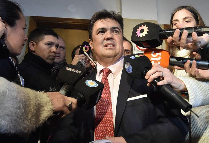 El fiscal Guillermo Marijuan.