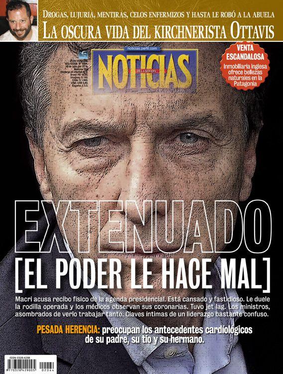 Tapa revista NOTICIAS 2064