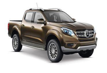 Así será la nueva pick-up de Mercedes.