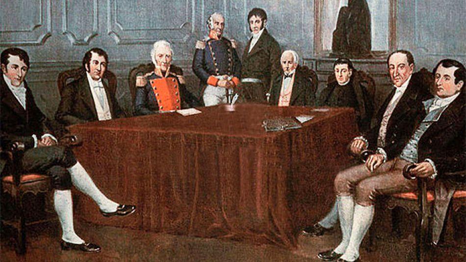 Ayer. La Declaración de la Independencia del 9 de Julio de 1816, tomada por el Congreso de Tucumán, proclamaba valores hacia la conformación de un Estado nacional, independiente de la corona española.