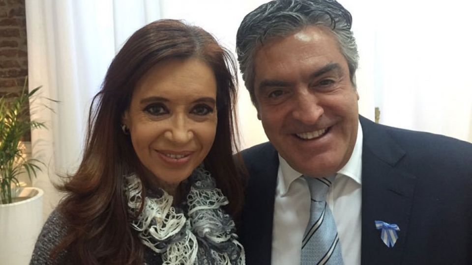 Gregorio Dalbón, junto a su clienta Cristina Fernández Kirchner.