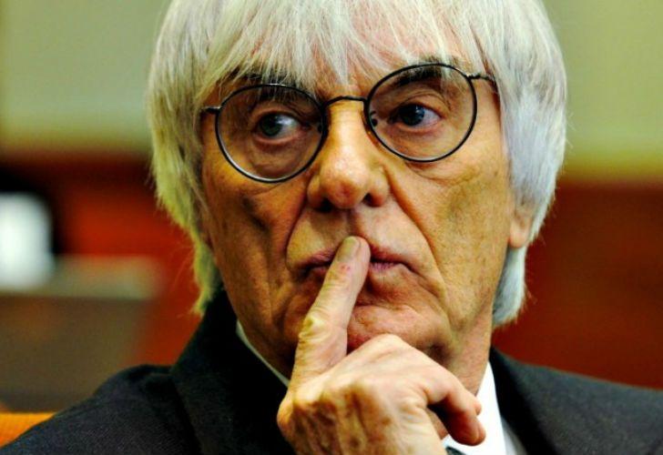 Bernie Ecclestone, director de la F1.