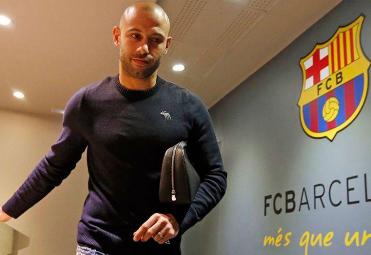 Javier Mascherano seguirá en Barcelona hasta 2019.