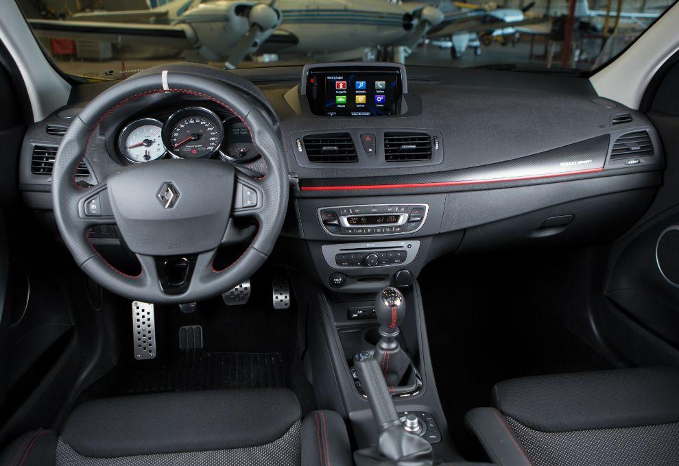 Renault megane rs interior revista parabrisas for Interior renault megane