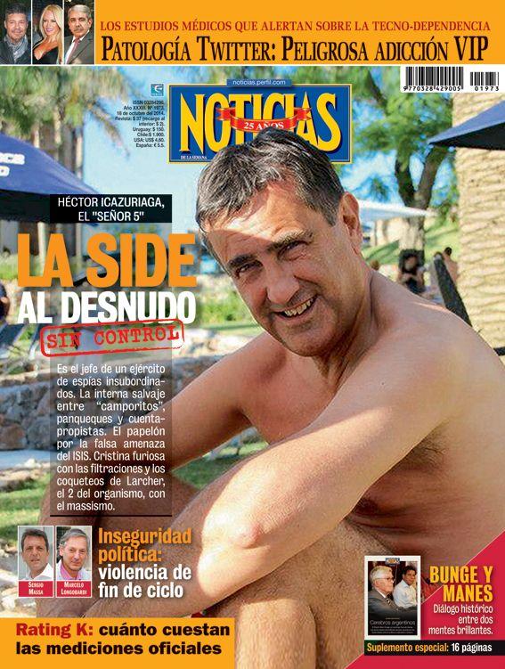 """Antonio Stiuso: """"Siempre soy el culpable de todo"""""""