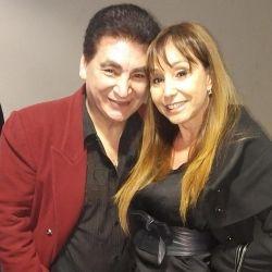 Cacho y Alejandra Rubio.