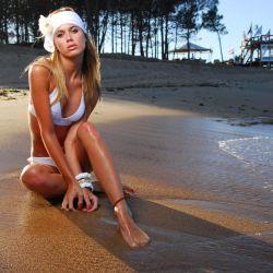 La modelo Chechu Bonelli.
