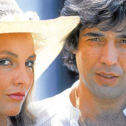 Cacho Castaña y Mónica Gonzaga