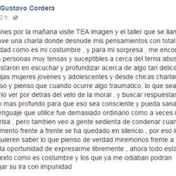 Declaracion Gustavo Cordera