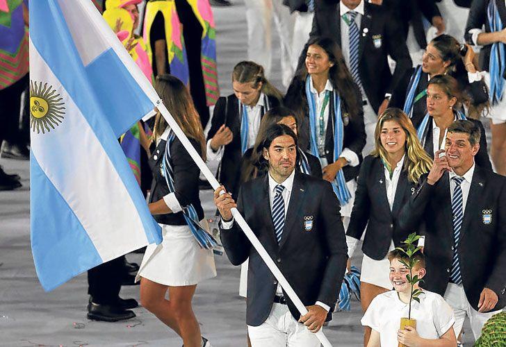 Estrella. El Luifa Scola, uno de los mejores deportistas de la historia argentina, en su momento cumbre a los 36 años. indiscutido.