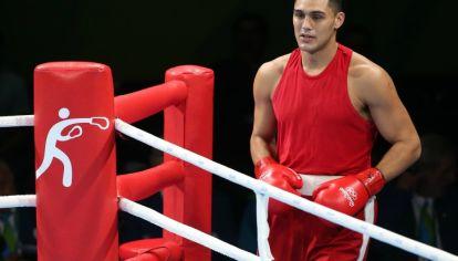 Yamil Peralta, boxeador argentino categoría hasta 91 kilos