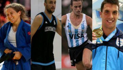Atletas argentinos en Río 2016