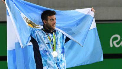 Del Potro se llevó la medalla de plata de Río