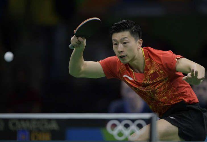Ma Long, representante de China en tenis de mesa