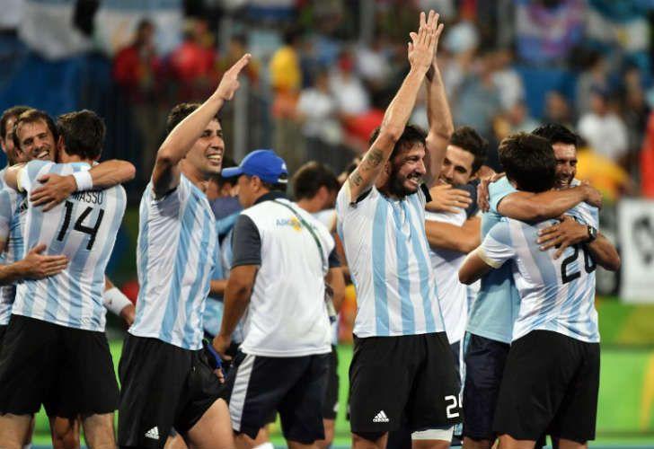 Argentina campeón olímpico en hockey masculino.