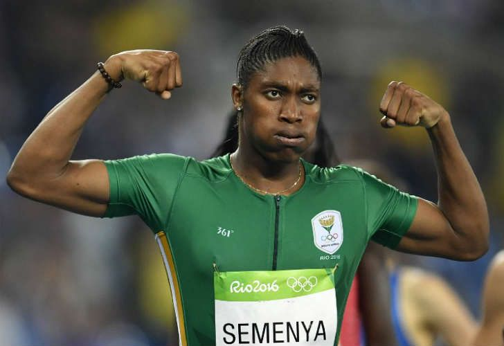 Caster Semenya, una atleta de élite cuestionada por su sexualidad.