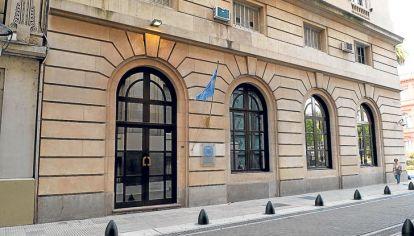 Sede central. El edificio de la AFI en la calle 25 de Mayo es el epicentro de acusaciones que afectan a sus nuevas autoridades.