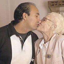Haydeé Biasatti también había sido noticia por tener un novio 50 años más joven.