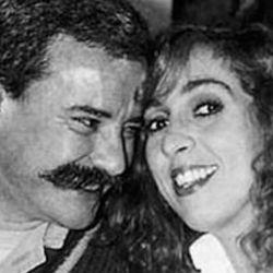 """Georgina Barbarossa y su marido Miguel """"Vasco"""" Lecuna"""