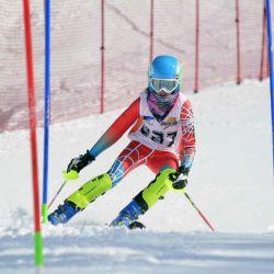 Campeonato Nacional de Esquí: Categoría U14, Slalom.
