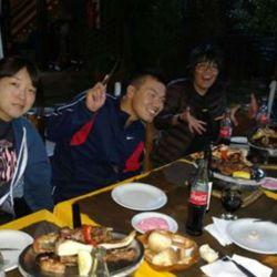 Equipo japonés de Kayak Freestyle.