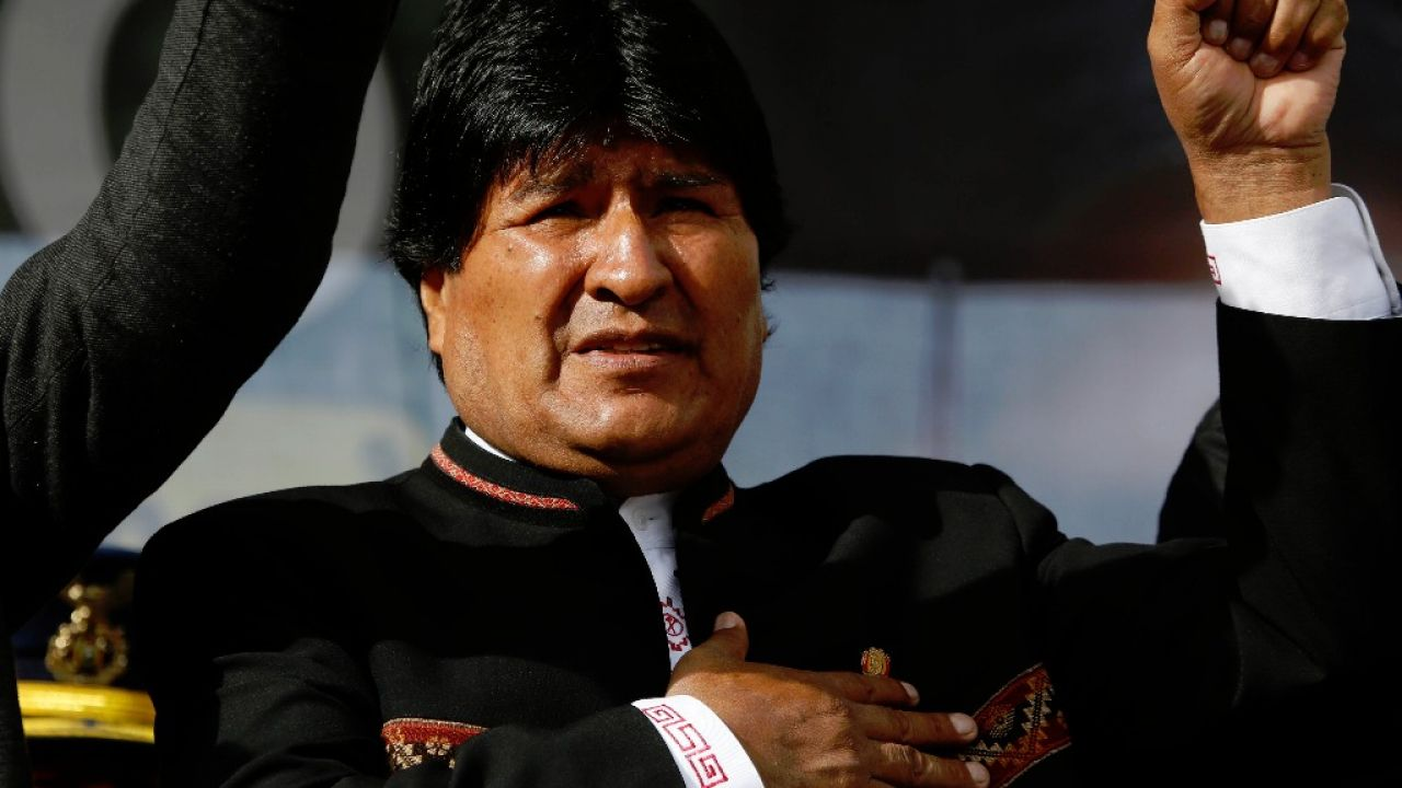 Evo Morales   Foto:cedoc