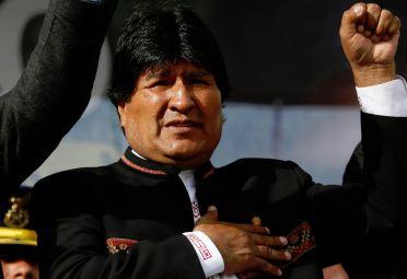 Evo Morales conmovido por el asesinato de un viceministro.