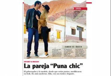 """El 11 de junio, Noticias le dio vida a un nuevo estilo en la moda: """"Puna chic""""."""