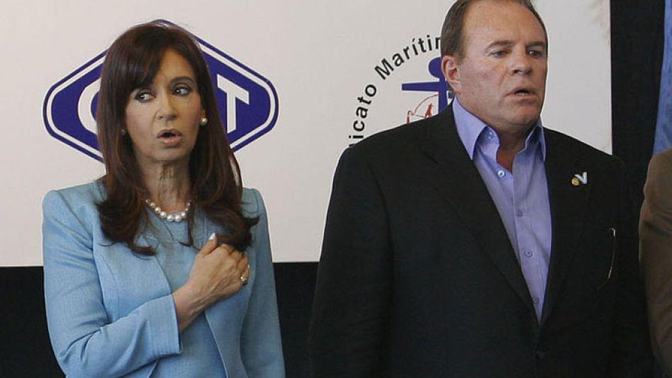 "Marzo de 2009. Cristina siempre consideró a Suárez como su ""preferido"" en contraposición a Moyano."