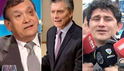 Cataldo, Macri y Oyarzun.