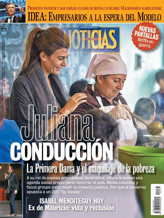 Tapa Noticias 2077: Juliana Conducción
