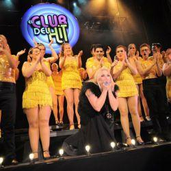 Una de las funciones del Club del Hit con Divina Gloria como invitada especial.