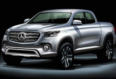 Así sería la pick-up de Mercedes-Benz. FOTO: LosAndesOnline.