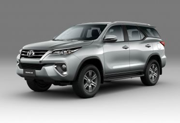 Nueva Toyota SW4 SR.