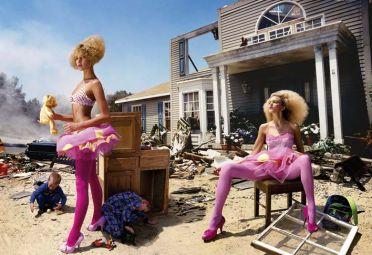 LaChapelle brilla en la moda y la publicidad.