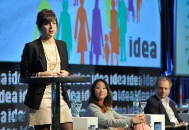 La economista Mercedes D'Alessandro en IDEA.