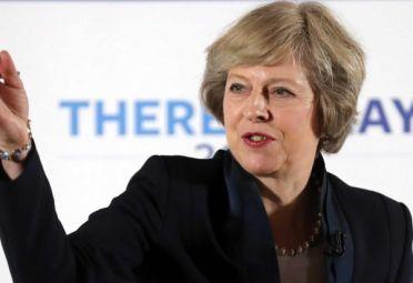 La nueva líder del Partido Conservador, Theresa May
