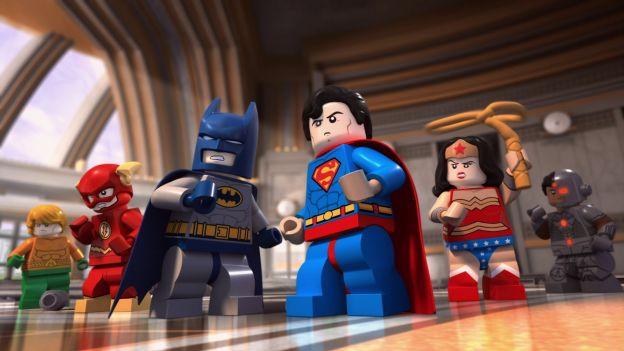 Lego tiene acuerdos con DC y Marvel.