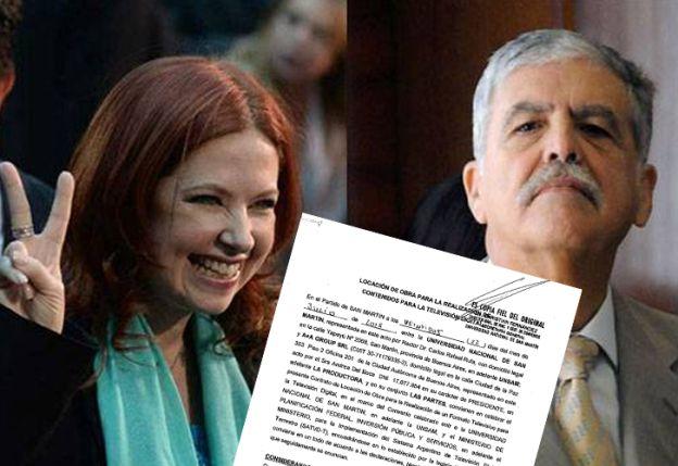 Exclusivo: El contrato de la novela de Andrea Del Boca