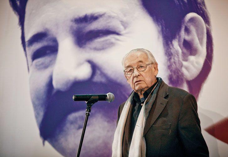 Polaco. Andrzej Wajda falleció a los 90 años el 10 de octubre en Varsovia.