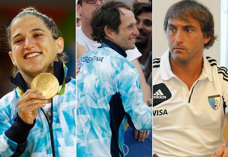 Paula Pareto, Santiago Lange y Chapa Retegui pusieron a la Argentina en lo más alto del podio.