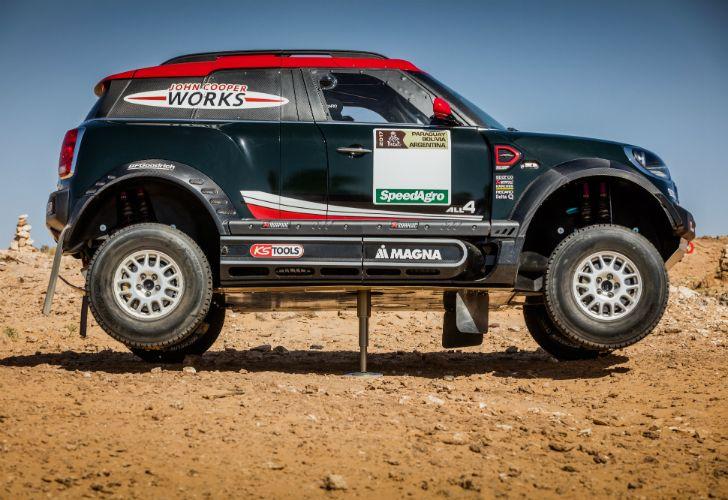 MINI John Cooper Works Rally 2017.